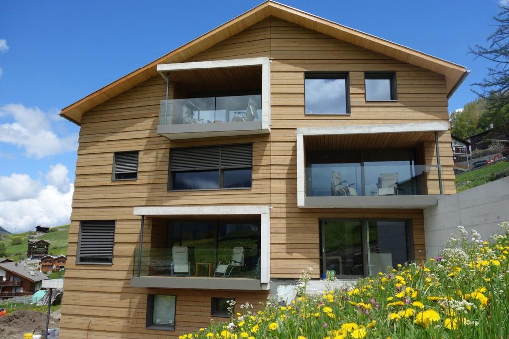 Familienfreundliche und moderne Ferienwohnungen in den Bergen im Wallis